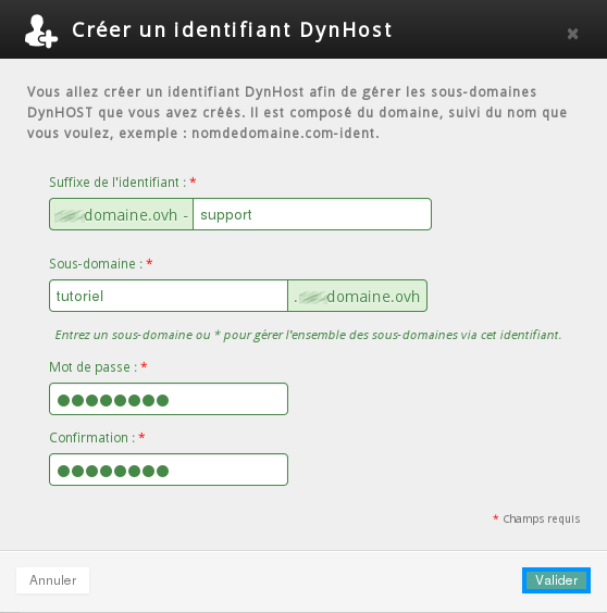 Gestion du DynDNS sous Linux avec OVH - P3ter fr